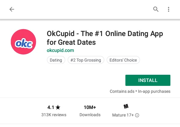 Download OkCupid for Amazon Kindle Fire Tablet   Dating Apps for